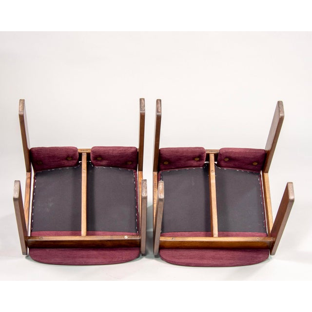 Afra and Tobia Scarpa 121 Walnut Dining Chairs for Cassina, Set of 8 For Sale - Image 10 of 11