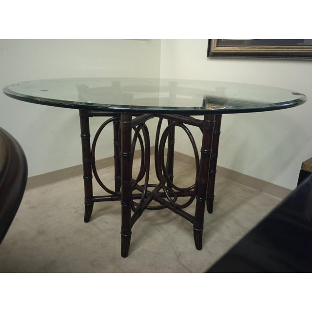 Lexington furniture coral sea dining table chairish for Table coral sample