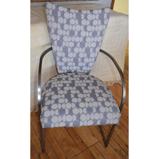 DIA - Design Institute America Dining Chairs, Set of 4, by Design Institute America, Midcentury, Reupholstered For Sale - Image 4 of 13