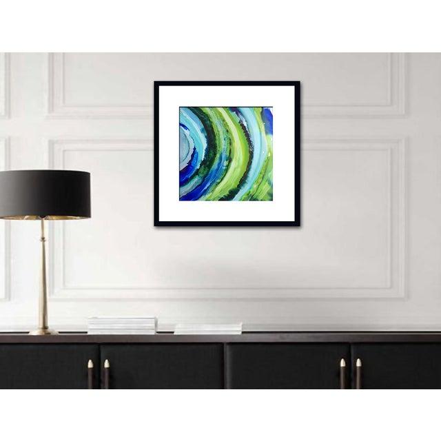'VENUS' Original Abstract Painting by Linnea Heide - Image 6 of 6