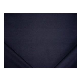 Transitional Ralph Lauren Austyn Cashmere Wool Midnight Upholstery Fabric - 5y For Sale