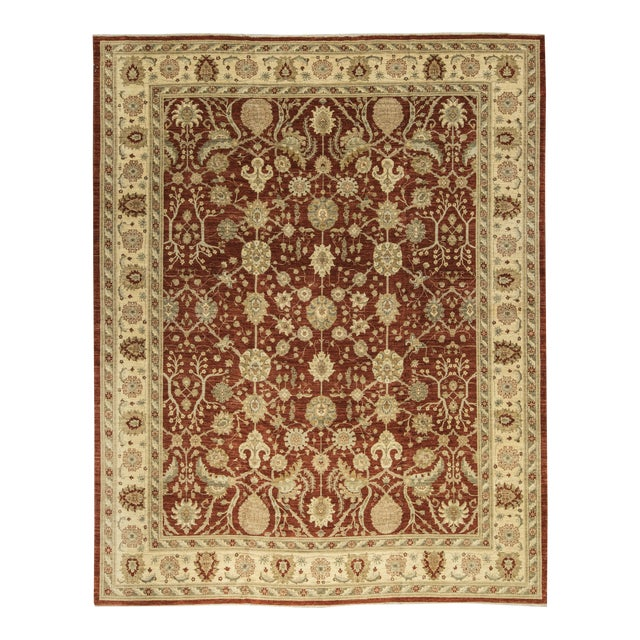 Traditional Hand Woven Rug - 13'3 X 17'6 - Image 1 of 4