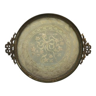 Late 19th Century Antique 1800s Italian Perfumes Vanity Tray For Sale