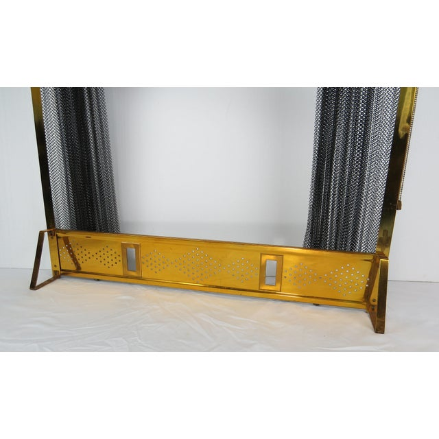 1950s Vintage Donald Deskey Mid-Century Modern Fireplace Set - 5 Pieces For Sale In Chicago - Image 6 of 13
