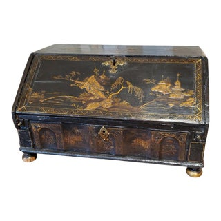 18th Century Chinese Export Secretary Desk For Sale