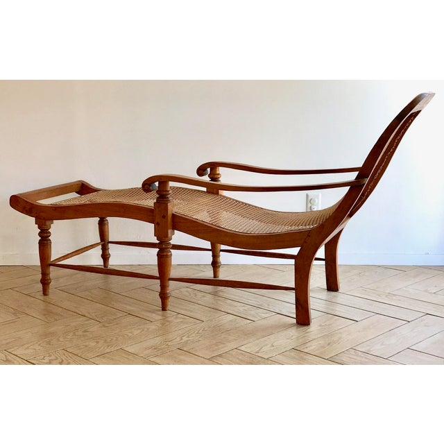 Early 20th Century Early 20th Century Antique Bauer Plantation Chaise Lounge For Sale - Image 5 of 13