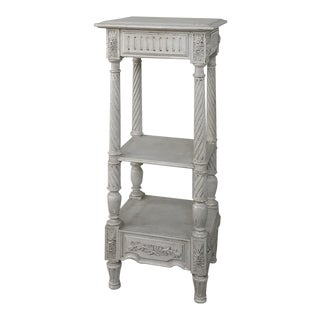 19th Century French Louis XVI Painted Pedestal For Sale