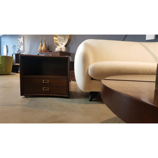 Paul Frankl for Johnson Furniture Walnut Nightstands - A Pair - Image 6 of 8
