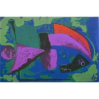 1968 XX Siecle Marino Marini Guerrier Lithograph For Sale