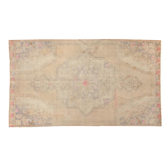 Vintage Distressed Oushak Rug - 4' x 7' - Image 11 of 11