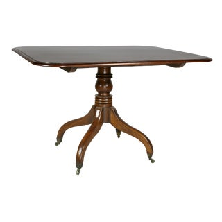 Regency Mahogany Breakfast Table For Sale