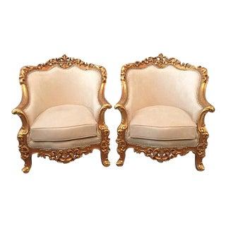 Baroque Bergeres - Pair