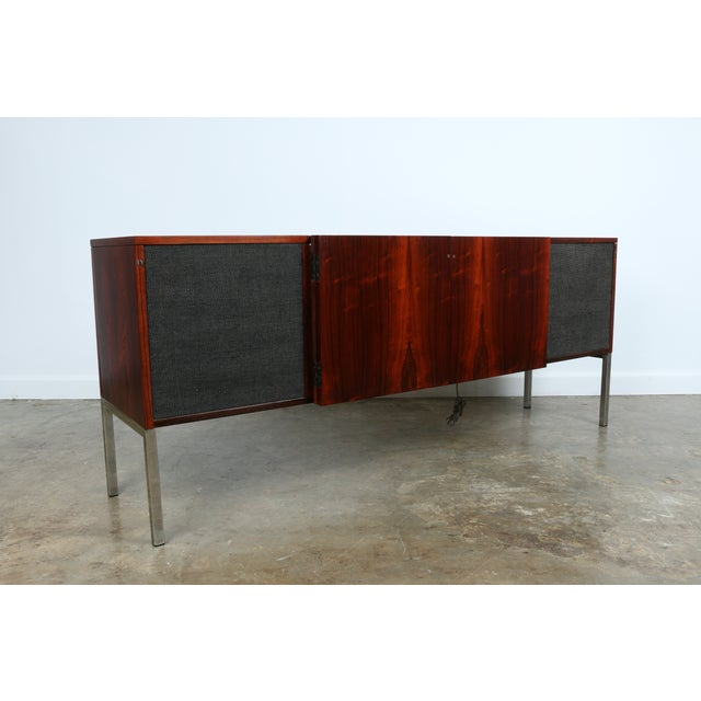 1970s Rosewood Record Cabinet - Image 5 of 11