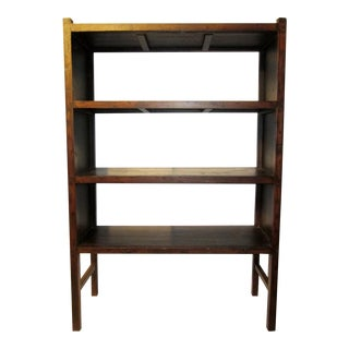 Antique Chinese Elm Bookshelf For Sale