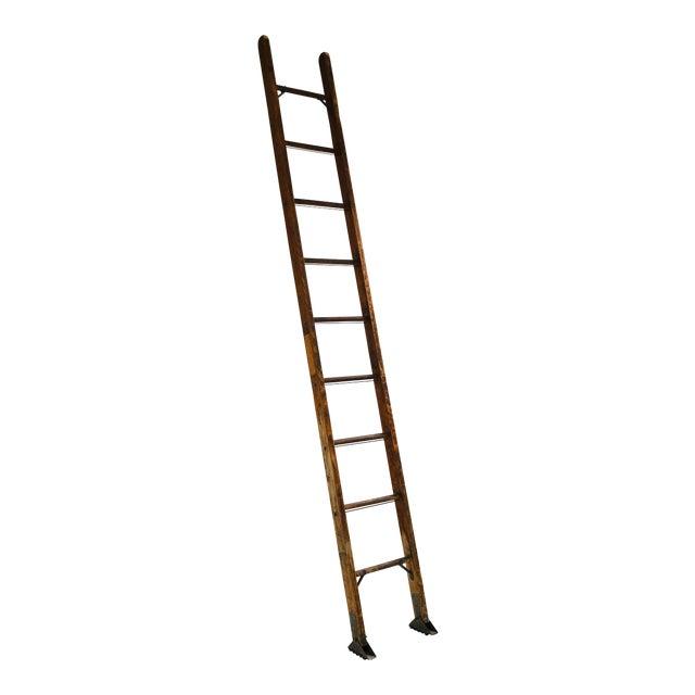 Vintage Mid-Century Working Ladder For Sale