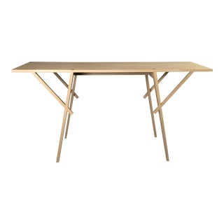 Limed Oak Console Table For Sale