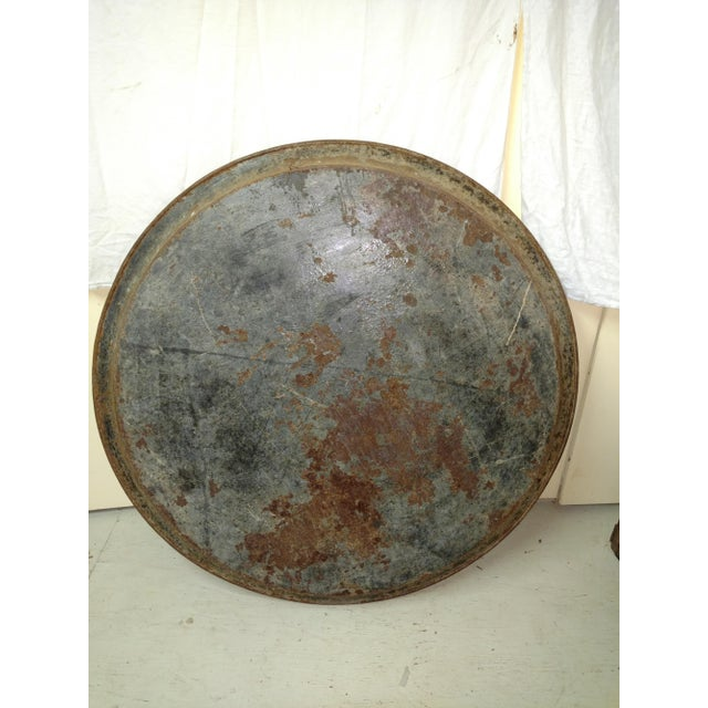 Antique Anglo Indian Huge Festival Wedding Tray For Sale In Sacramento - Image 6 of 9