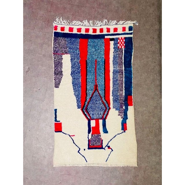 1980s Berber Morocco Rug-4′8″ × 8′2″ For Sale - Image 10 of 10
