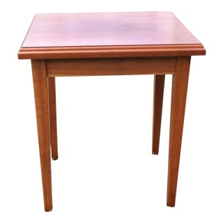 1990s Shaker Style Cherry End Table For Sale