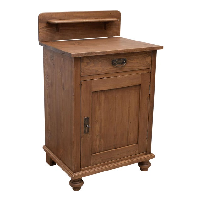 Late 19th Century Pine Cupboard / Washstand For Sale
