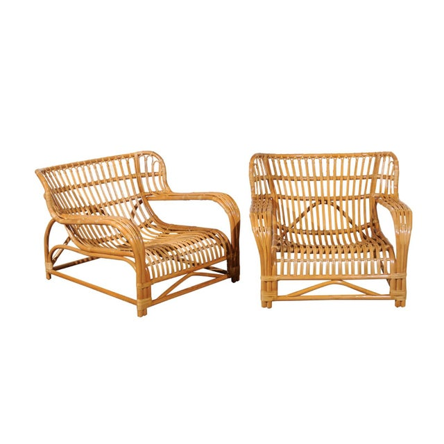 Spectacular Pair of Custom Commissioned Loungers After Viggo Boesen For Sale - Image 13 of 13