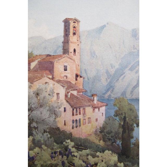 1905 Ella du Cane Print, Castagnola, Lago di Lugano - Image 4 of 4