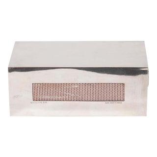 Art Deco Rectilinear Sterling Silver Matchbox Holder by Black, Starr & Gorham For Sale