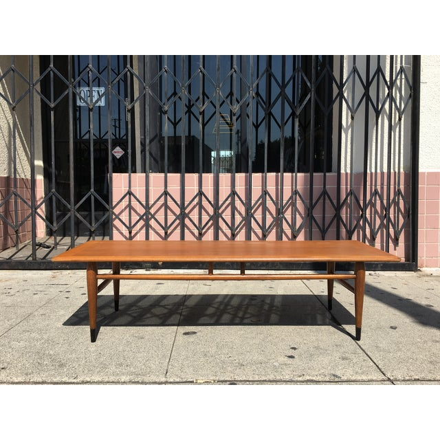 Lane Dovetail Coffee Table - Image 2 of 4