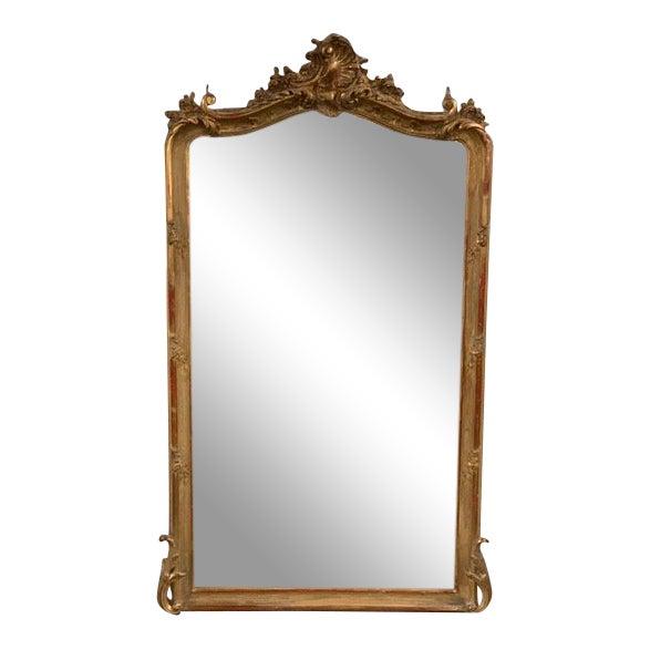 18th Century Original Grand Louis Philippe Style Mirror For Sale