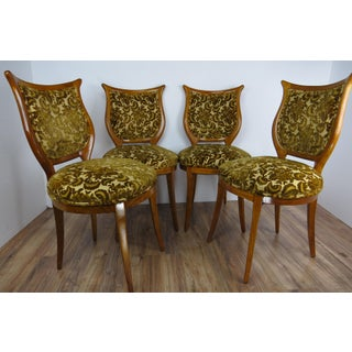 1930s American Classical Shieldback Dining Chairs - Set of 4 Preview