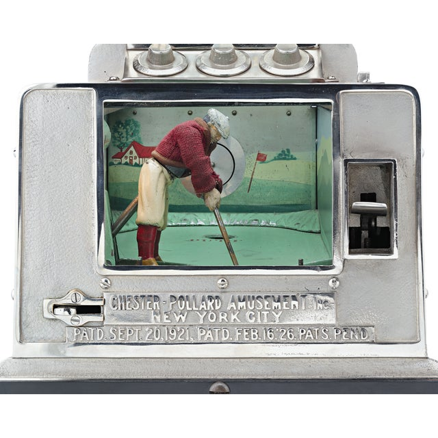 Americana Chester-Pollard Junior Golf Gaming Machine For Sale - Image 3 of 6