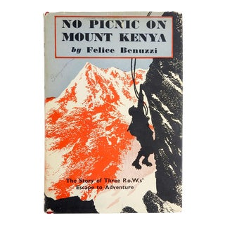 'No Picnic On Mount Kenya' by Felice Benuzzi For Sale