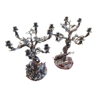 Monumental Candelabras - A Pair For Sale