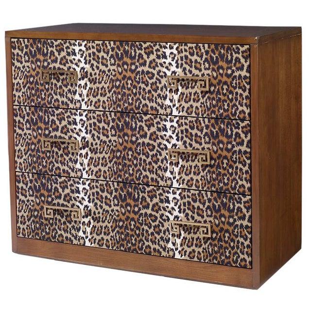 Kravet Leopard Print Camille Chest - Image 1 of 2