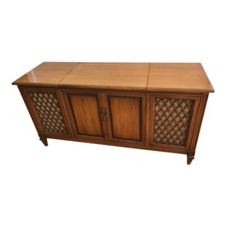 1960's Vintage Fisher Stereo Console For Sale