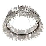 Image of Italian Murano Triedi Glass Chandelier For Sale