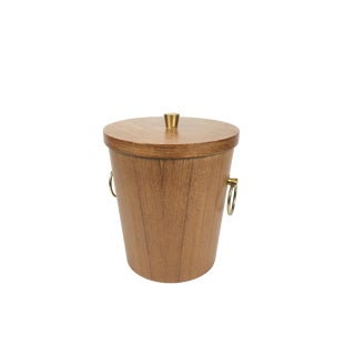 Danish Style Wooden Ice Bucket