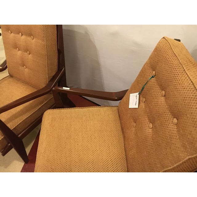 Danish Modern Danish Mid-Century Modern Lounge Chairs - A Pair For Sale - Image 3 of 8