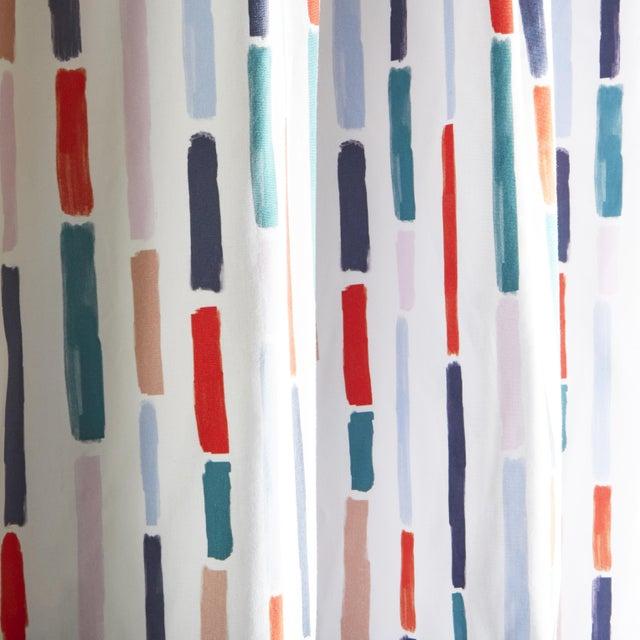 "Modern Pepper Jasper 50"" x 84"" Blackout Curtains - 2 Panels For Sale - Image 3 of 4"