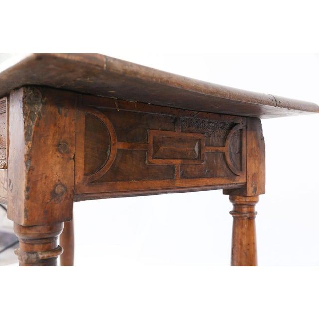 Wood Early French Walnut Table For Sale - Image 7 of 13