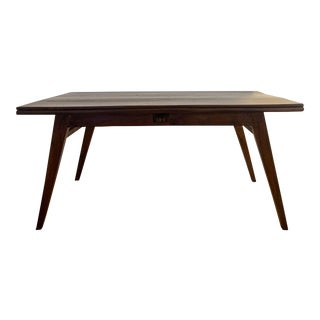 Authentic Pierre Jeanneret Dining Table For Sale