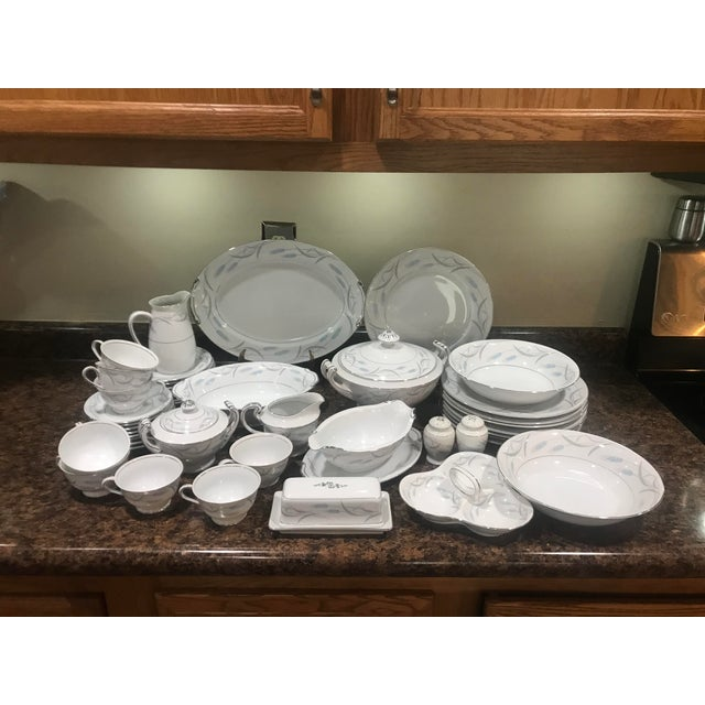 Mid-Century Modern China Royal Wheat Dinnerware - 48 Pieces For Sale - Image 3 of 9