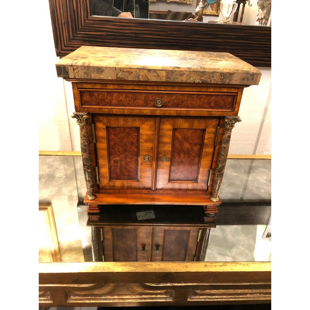Vintage Neoclassical Credenza Tabletop Treasure Box For Sale - Image 12 of 12