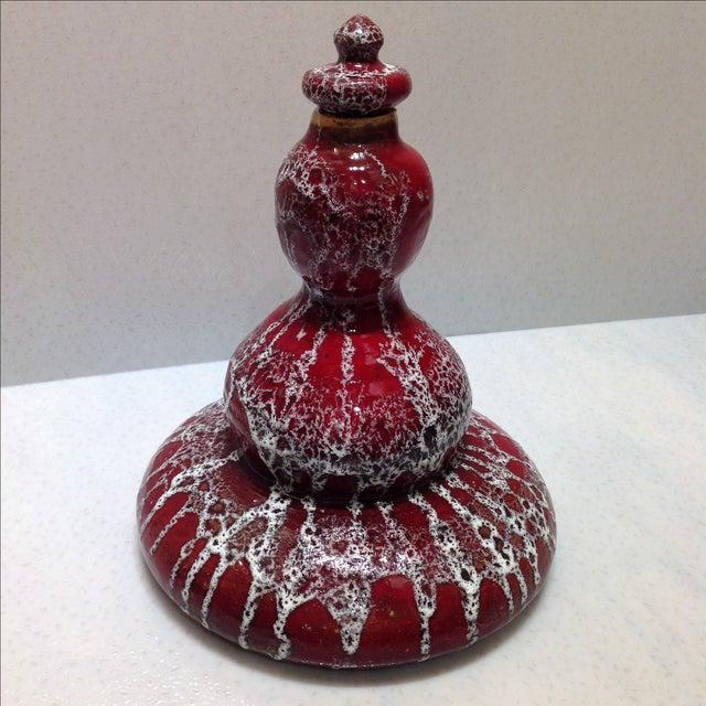 Mid-Century Studio Pottery Genie Bottle - Image 4 of 11
