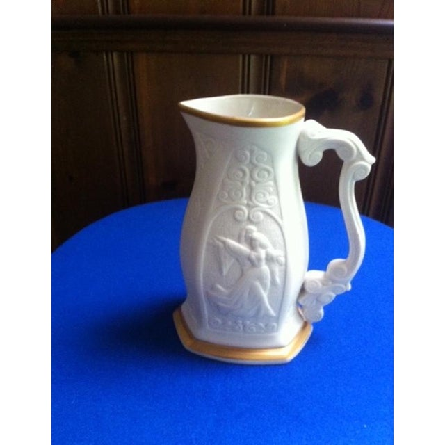 Mid-Century Limited Edition Lenox Porcelain Pitcher For Sale In Boston - Image 6 of 10