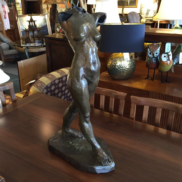Bronze Female Sculpture by Cedric Wentworth - Image 2 of 8