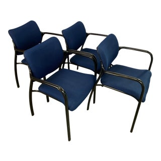 1998 Herman Miller Aside Arm Chairs - Set of 4 For Sale