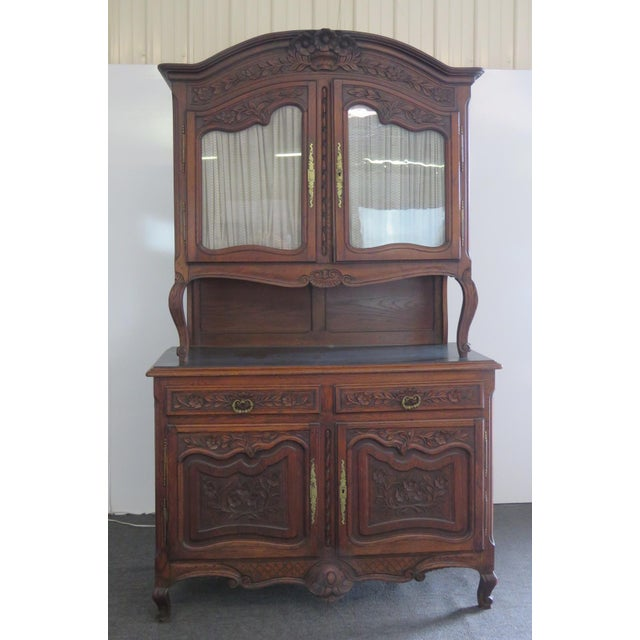 Louis XV Style Normandy Cupboard For Sale - Image 13 of 13