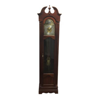 Ridgeway Tempus Fugit Colonial Style Grandfather Clock