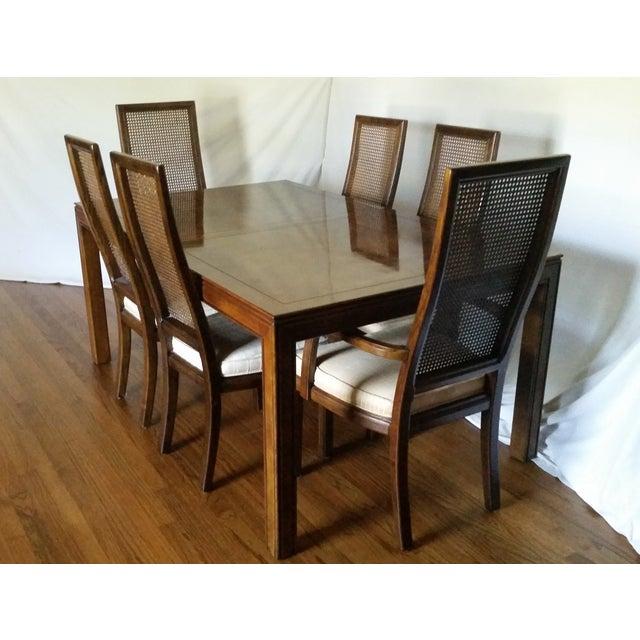 Vintage Henredon Campaign Dining Set Chairish